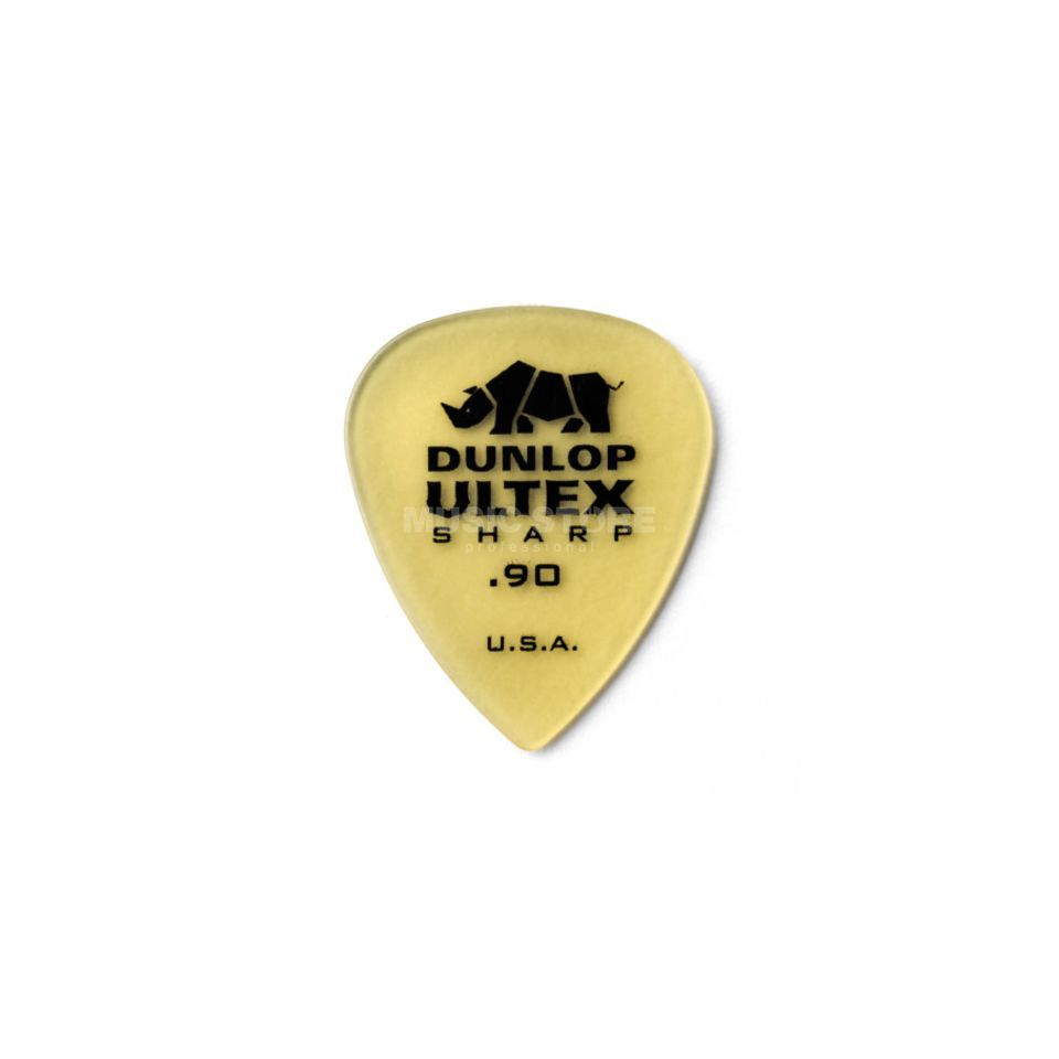 Dunlop Ultex Sharp Player's Pleks 0,90 mm, elfenbein, 6er-Set Produktbillede