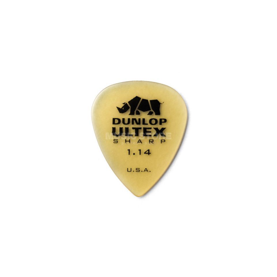 Dunlop Ultex Sharp Player's Pleks 1,14 mm, elfenbein,  72er-Set Produktbild