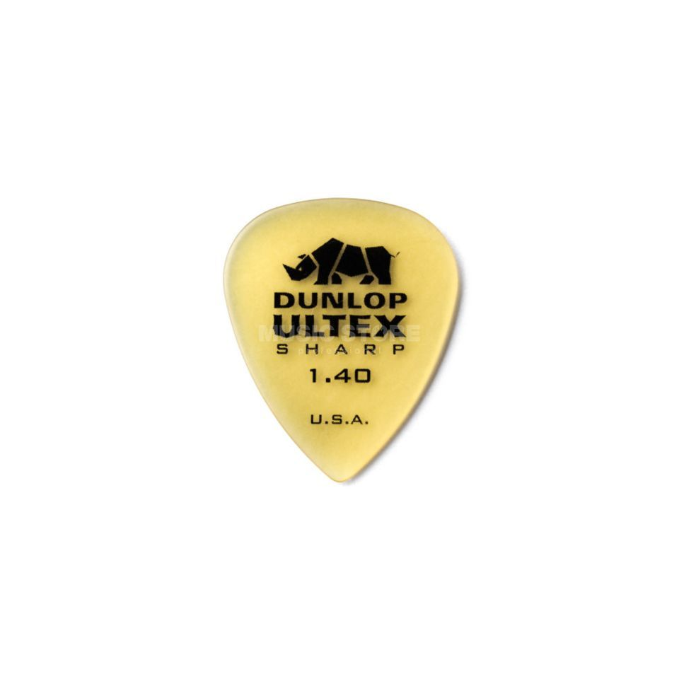 Dunlop Ultex Sharp Player's Pleks 1,40 mm, elfenbein, 6er-Set Produktbild