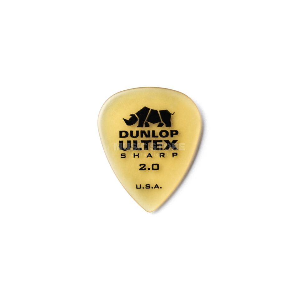 Dunlop Ultex Sharp Player's Pleks 2,00 mm, elfenbein, 6er-Set Produktbild