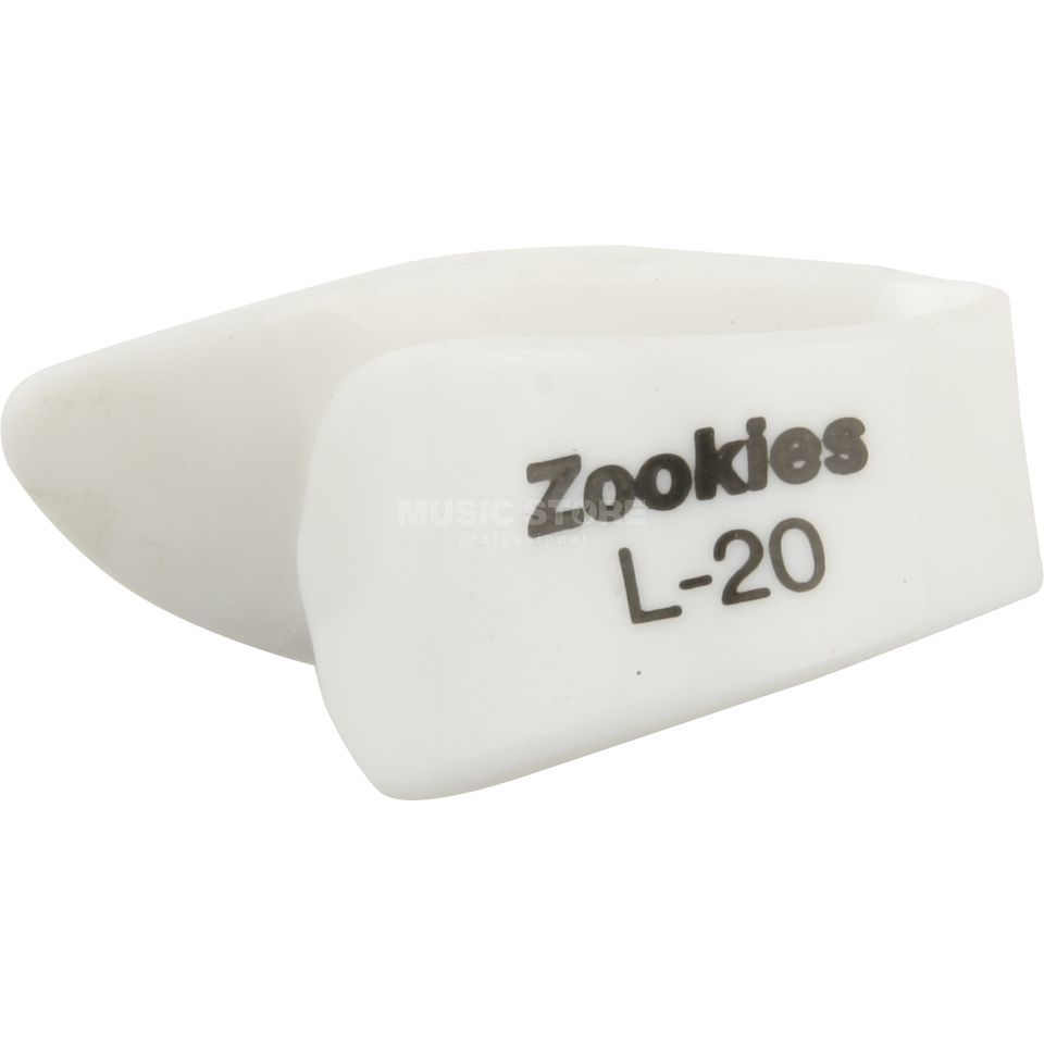Dunlop Zookies L20 Thumb Pick 20° Angled Tip, Large Produktbillede