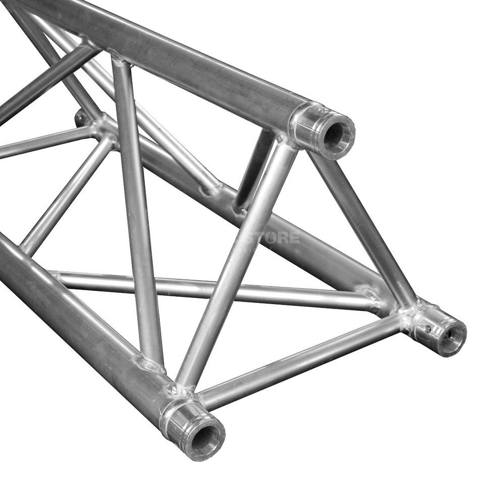 DURATRUSS DT 43-100, 3-Point Truss 1,0 m incl.  Conical Coupler Produktbillede