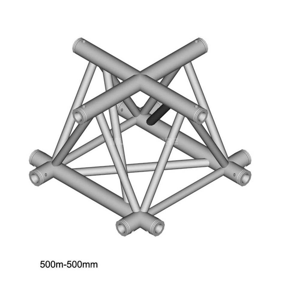 DURATRUSS DT 43 C41, 3-Point Truss Cross, 4-Way Produktbillede