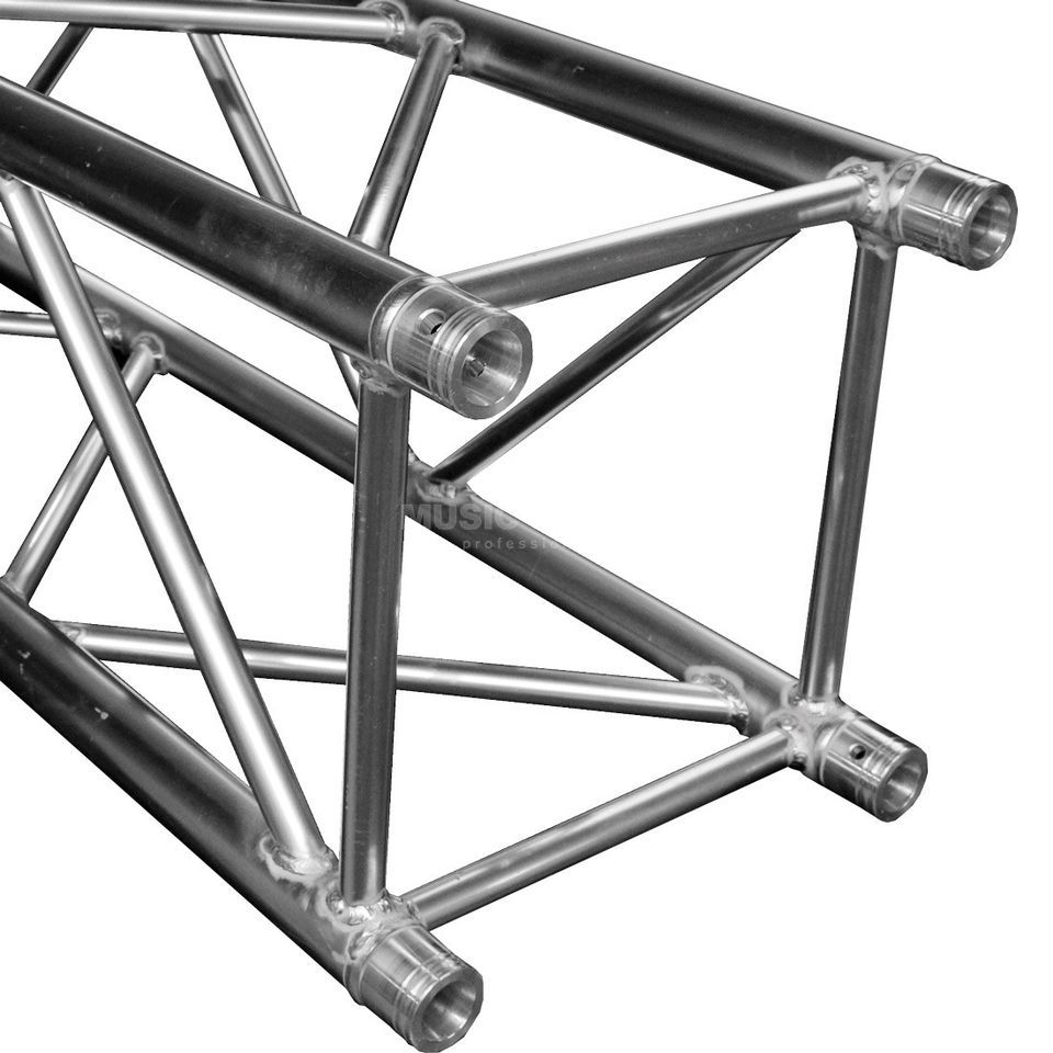 DURATRUSS DT 44-100, 4-Point Truss 1.0 m incl.  Conical Coupler Produktbillede