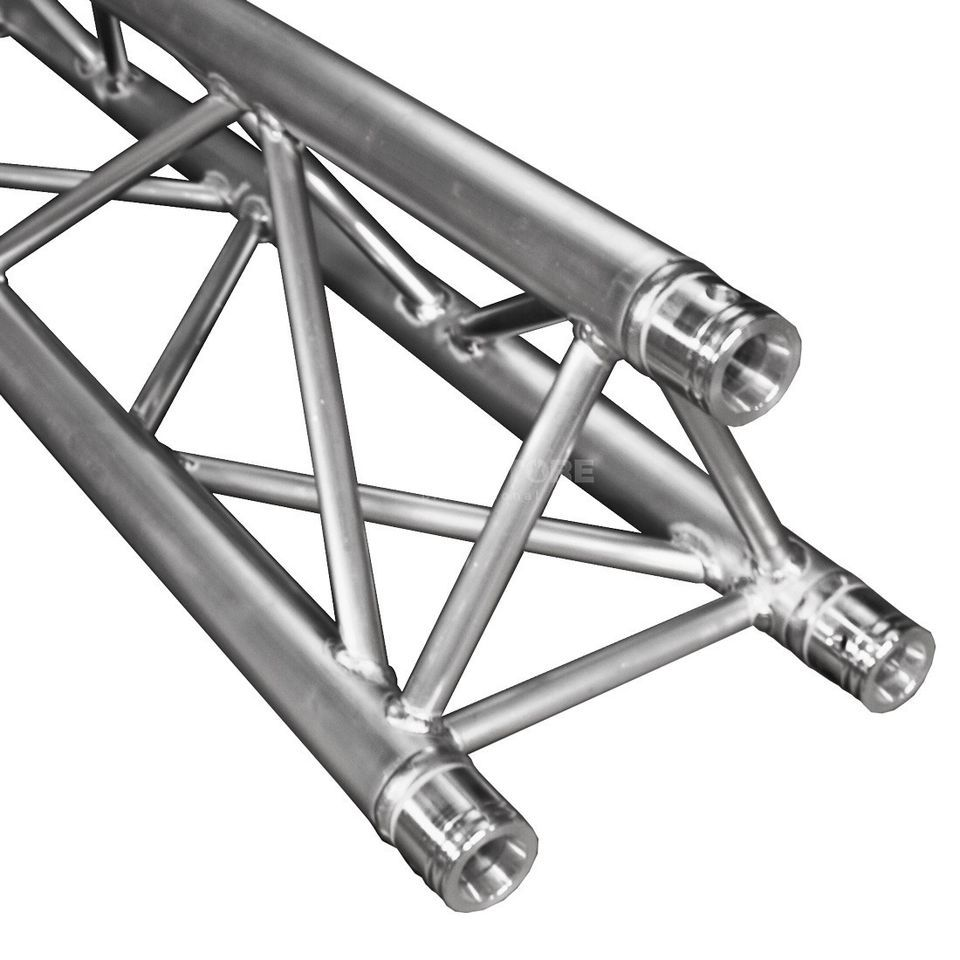 DURATRUSS DT33-075, 3-Point Truss 75 cm incl.  Conical Coupler Produktbillede