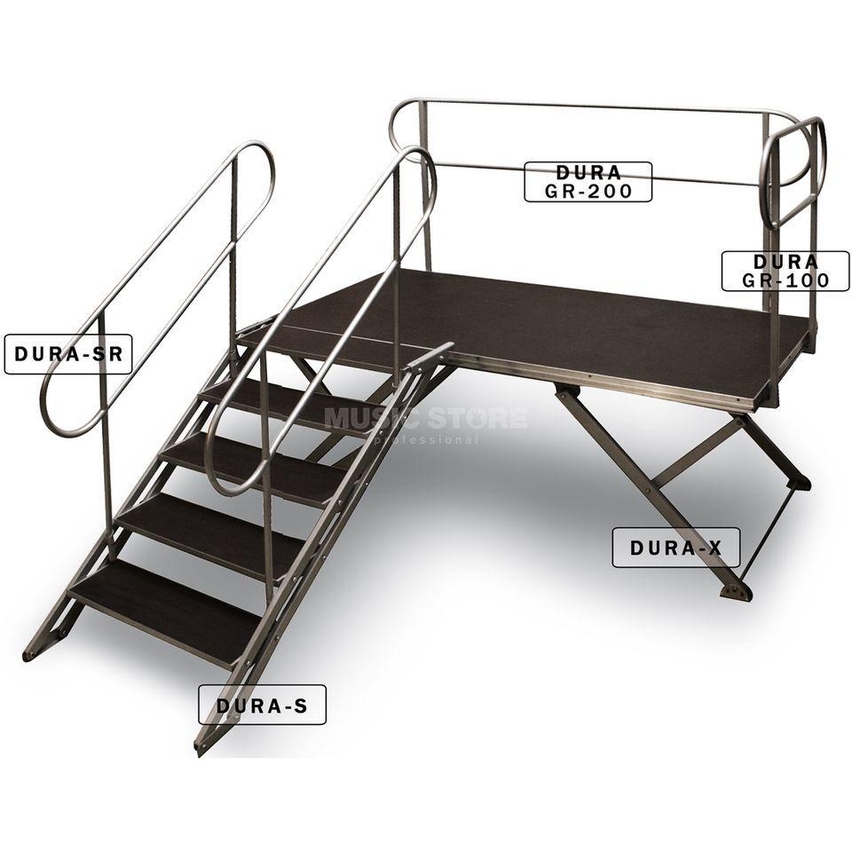 duratruss dura x b hnenpodest 200 x 100 cm. Black Bedroom Furniture Sets. Home Design Ideas