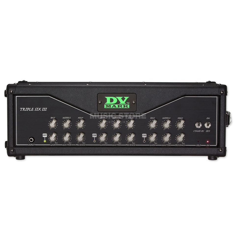 DV Mark Triple 6 III Head Produktbild