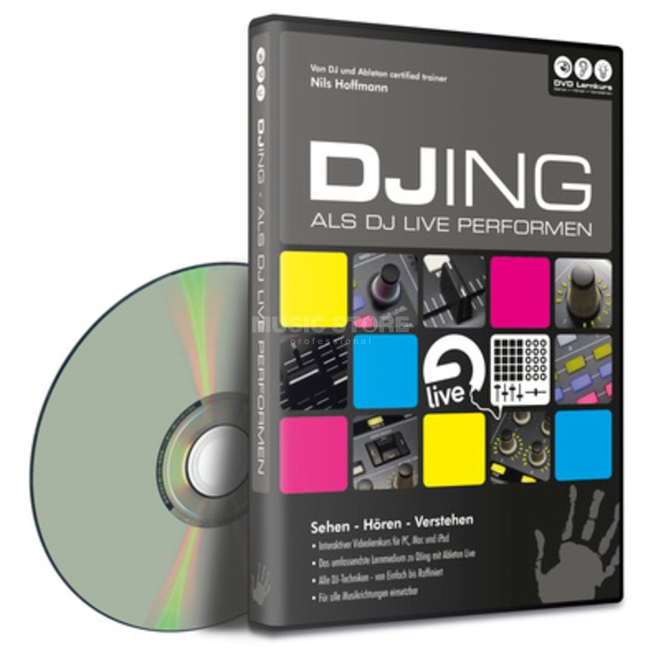 DVD Lernkurs Hands On Ableton Live Vol.4 DJing and Performing Produktbillede