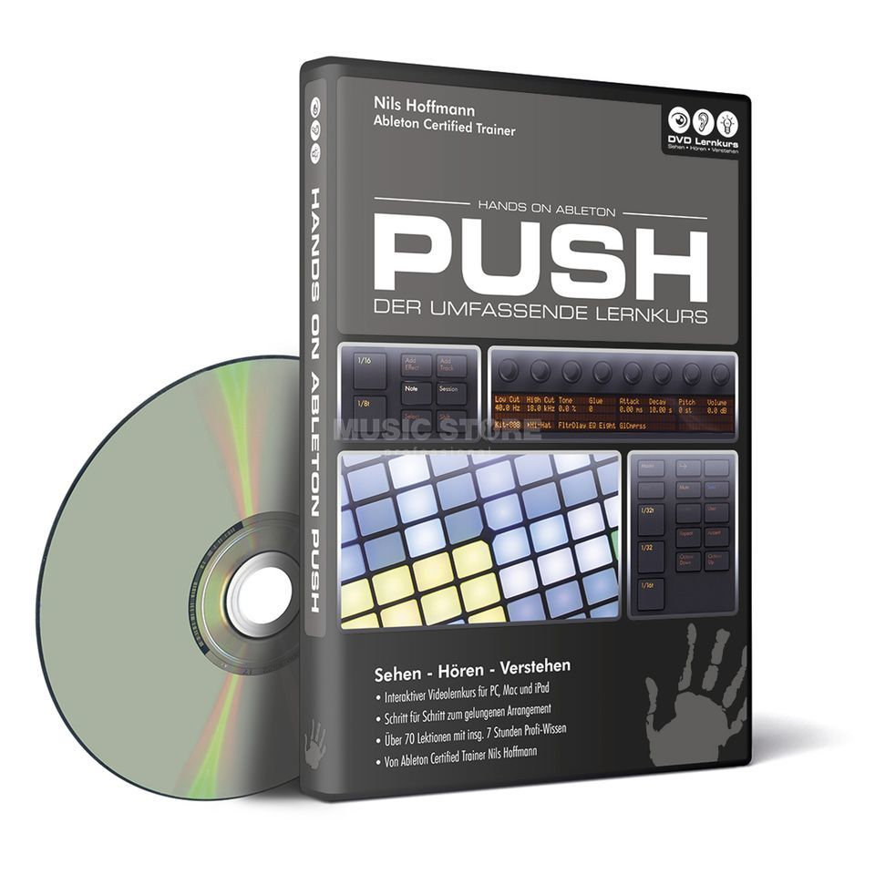 DVD Lernkurs Hands on Ableton Push Produktbillede