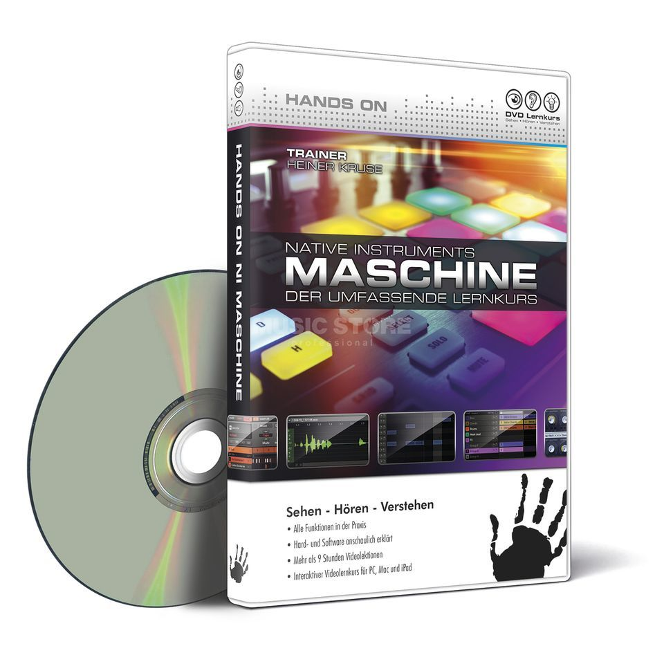 DVD Lernkurs Hands On NI Maschine DVD Produktbillede