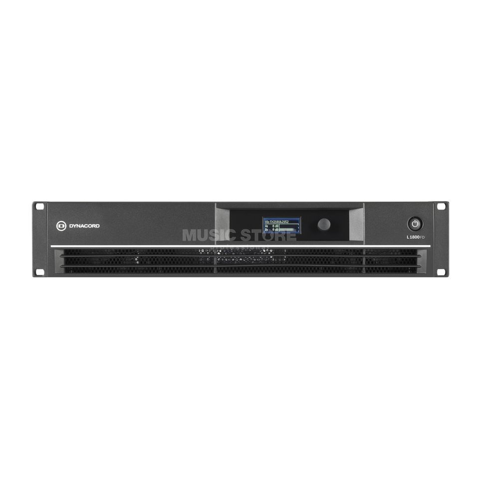 Dynacord L1800FD DSP power amplifier Product Image