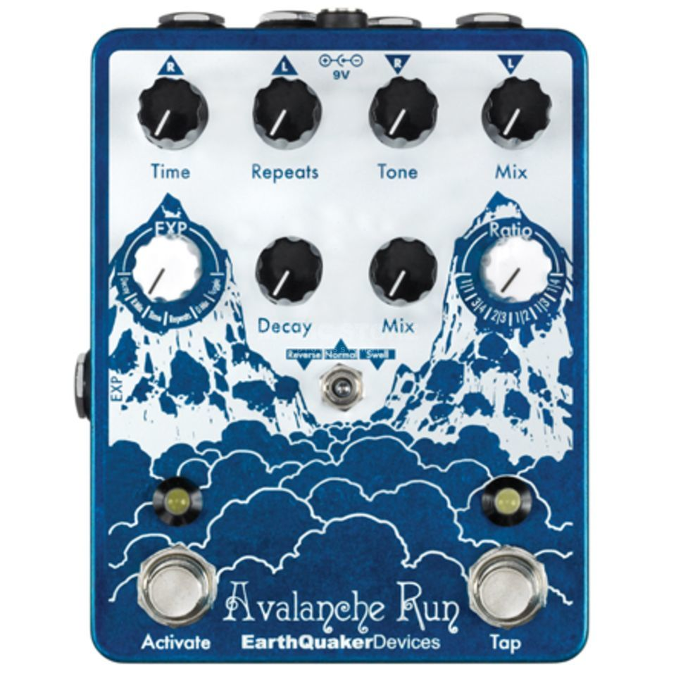 Earthquaker Devices Avalanche Run Delay & Reverb w/ Tap Tempo Изображение товара