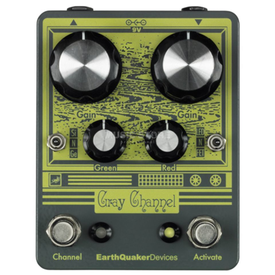 Earthquaker Devices Gray Channel Dynamic Dirt Doubler Produktbillede