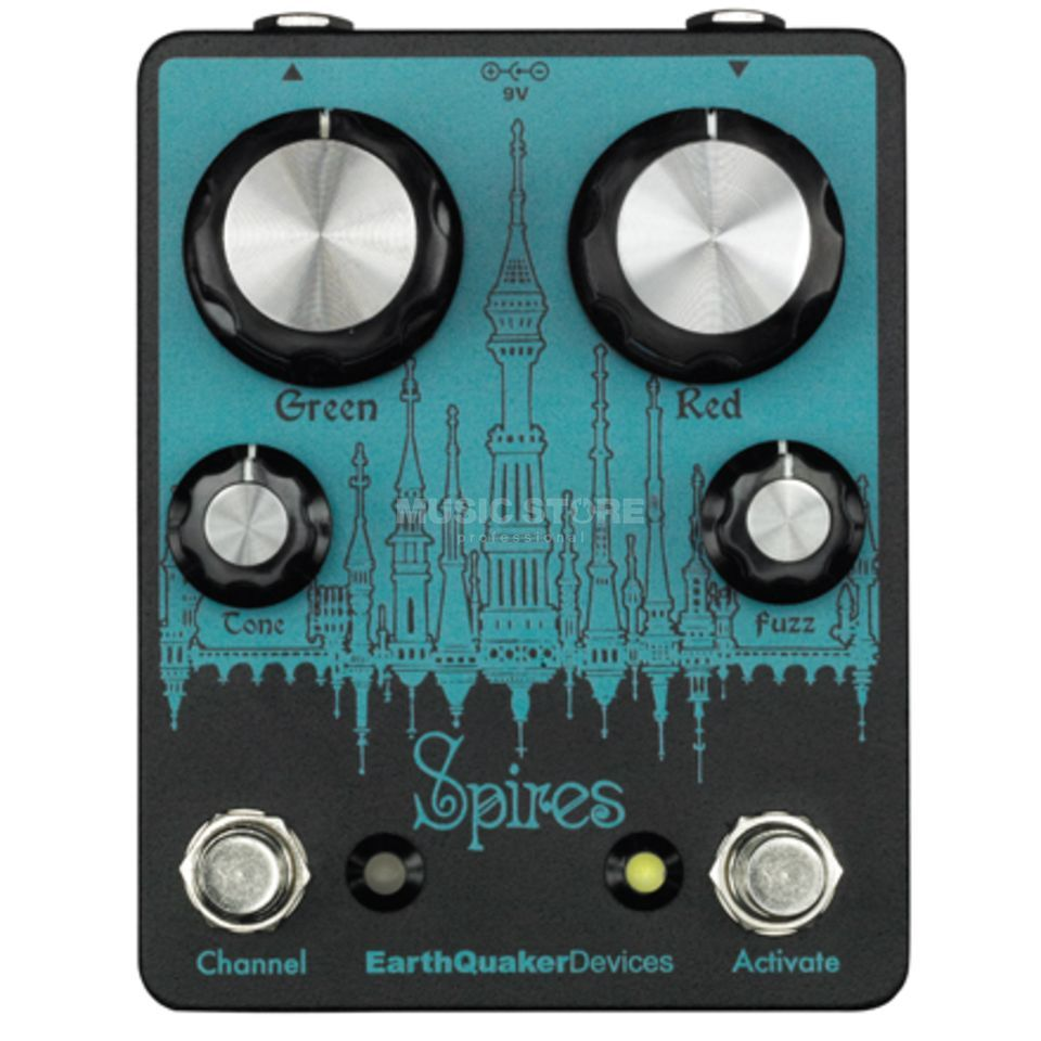 Earthquaker Devices Spires Nu Face Double Fuzz Produktbillede
