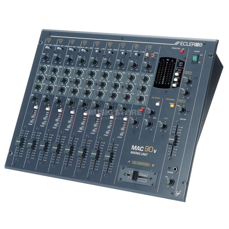 Ecler Mac 90v Disco Mixer 8 channel Produktbillede