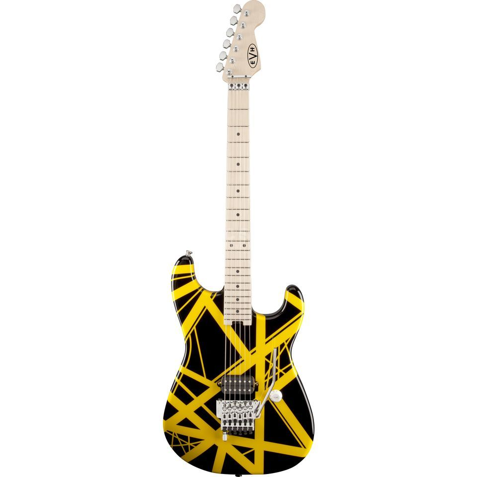 Eddie Van Halen Stripe Series BYS Black/Yellow Stripes Produktbild