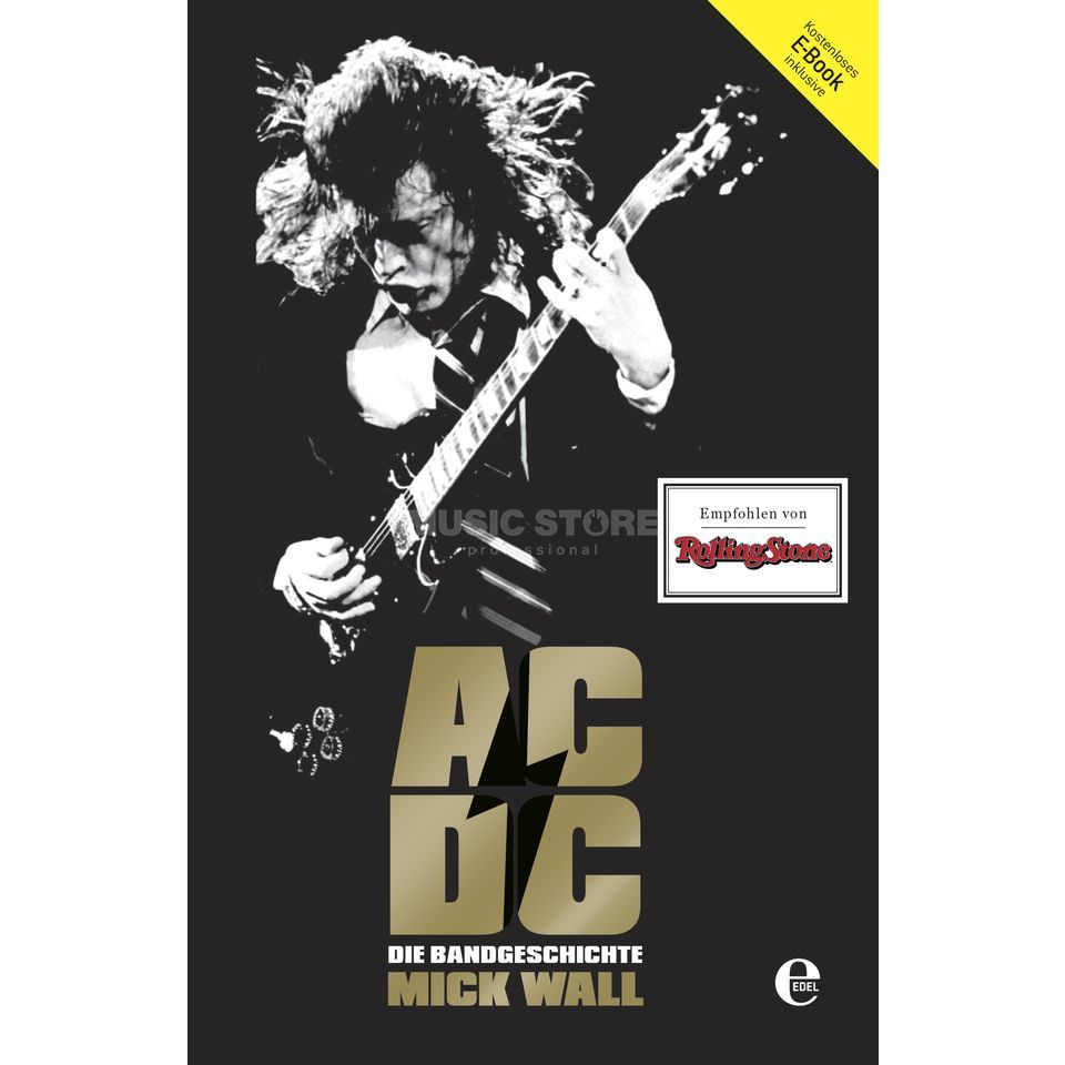 Edel Books AC/DC: Hell Ain't A Bad Place Mick Wall, Biografie Produktbild