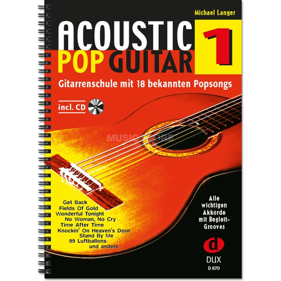 Edition Dux Acoustic Pop Guitar Band 1 Gitarrenschule Produktbillede