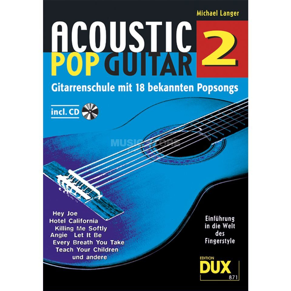 Edition Dux Acoustic Pop Guitar Band 2 Gitarrenschule Produktbillede