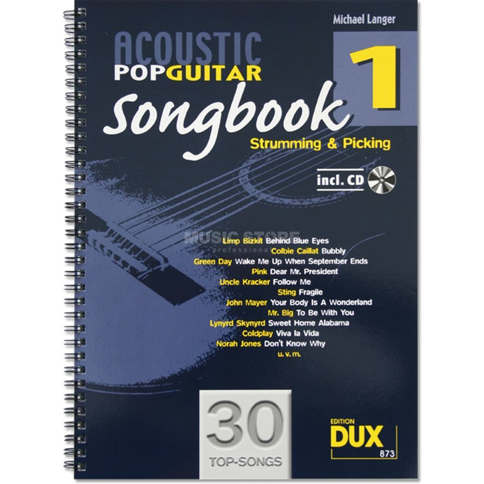 Edition Dux Acoustic Pop Guitar Songbook 1 Produktbillede