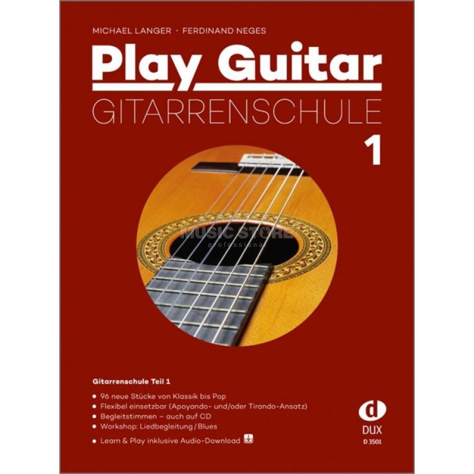 Edition Dux Play Guitar Gitarrenschule 1 Productafbeelding