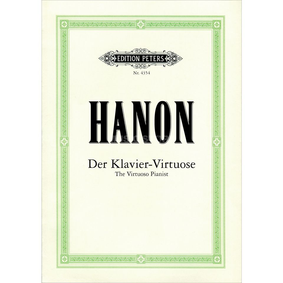 Edition Peters Hanon: Der Klavier-Virtuose  Produktbillede