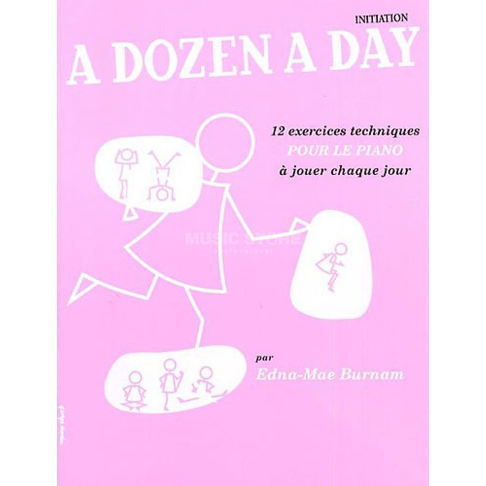 Editions Musicales Francaises A Dozen A Day: Initiation French, Piano Produktbillede