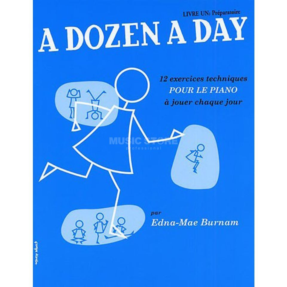 Editions Musicales Francaises A Dozen A Day: Livre 1 Preparatoire, French, Piano Product Image