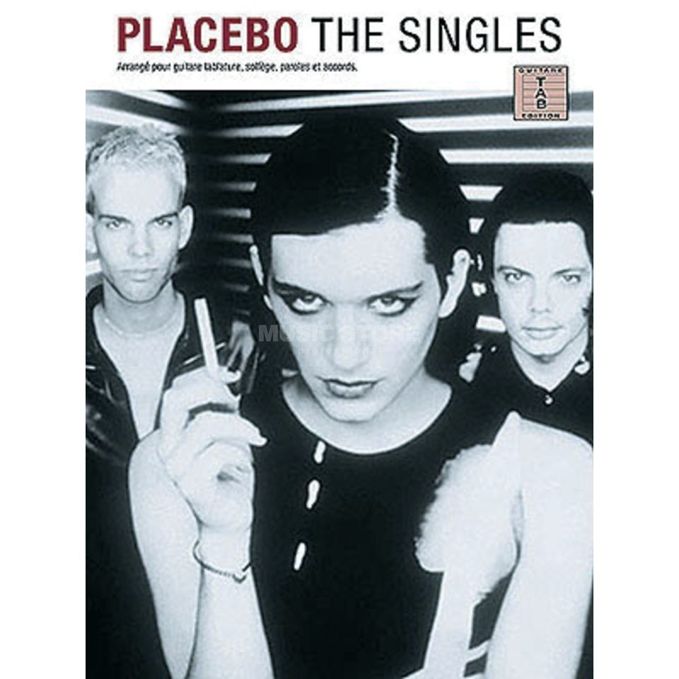 Editions Musicales Francaises Placebo - The Singles TAB Produktbild
