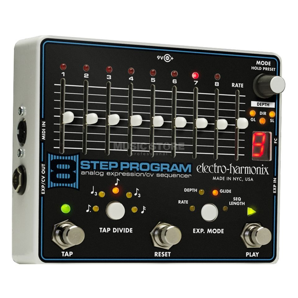 Electro Harmonix 8-Step Program Analog Expression CV Sequenzer Produktbild