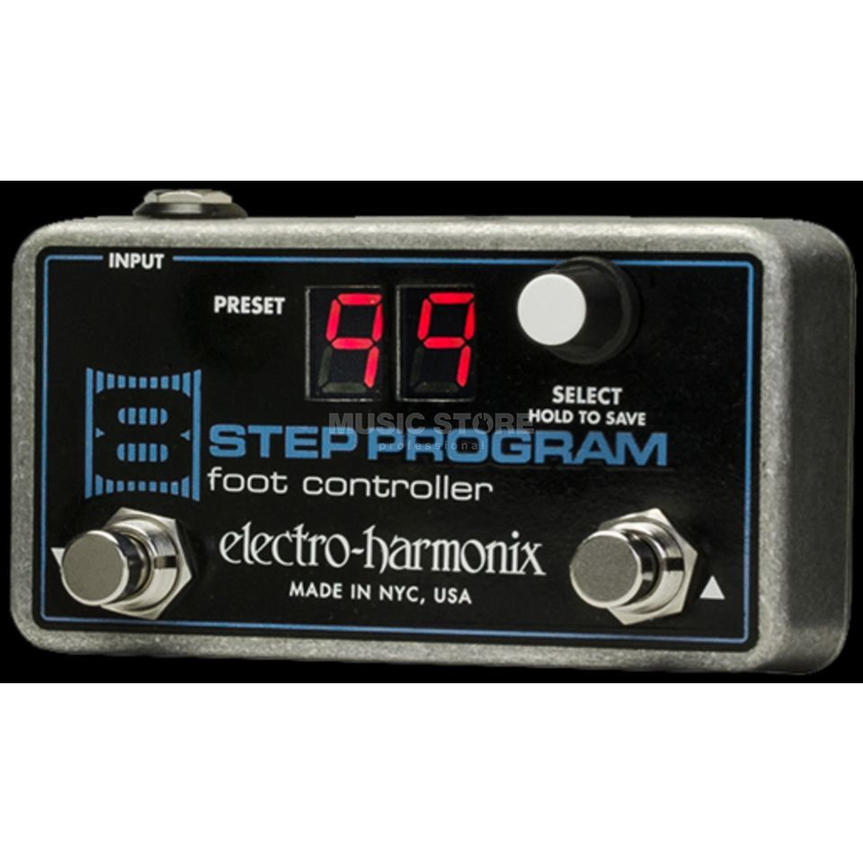 Electro Harmonix 8-Step Program Foot Controller Produktbild