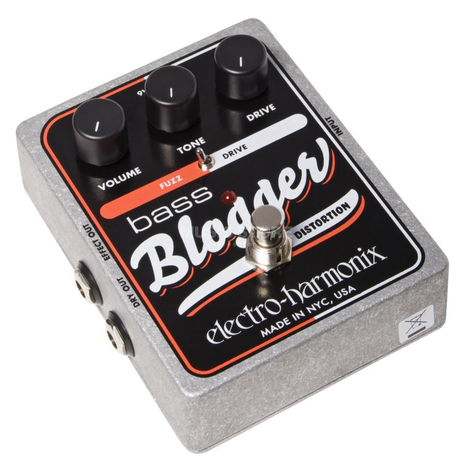 Electro Harmonix bas Blogger Overdrive effectpedaal Productafbeelding