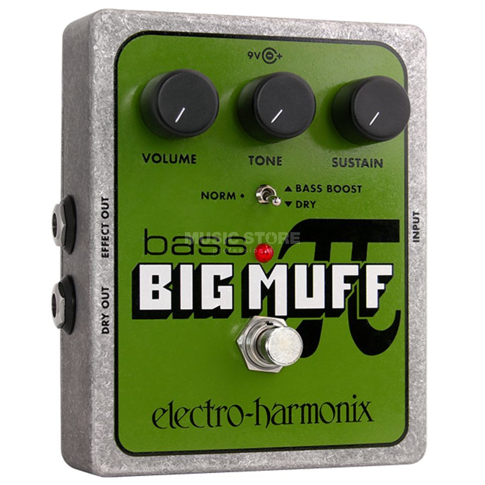 Electro Harmonix Bass Big Muff Pi Bass Fuzz Gui tar Effects Pedal   Product Image