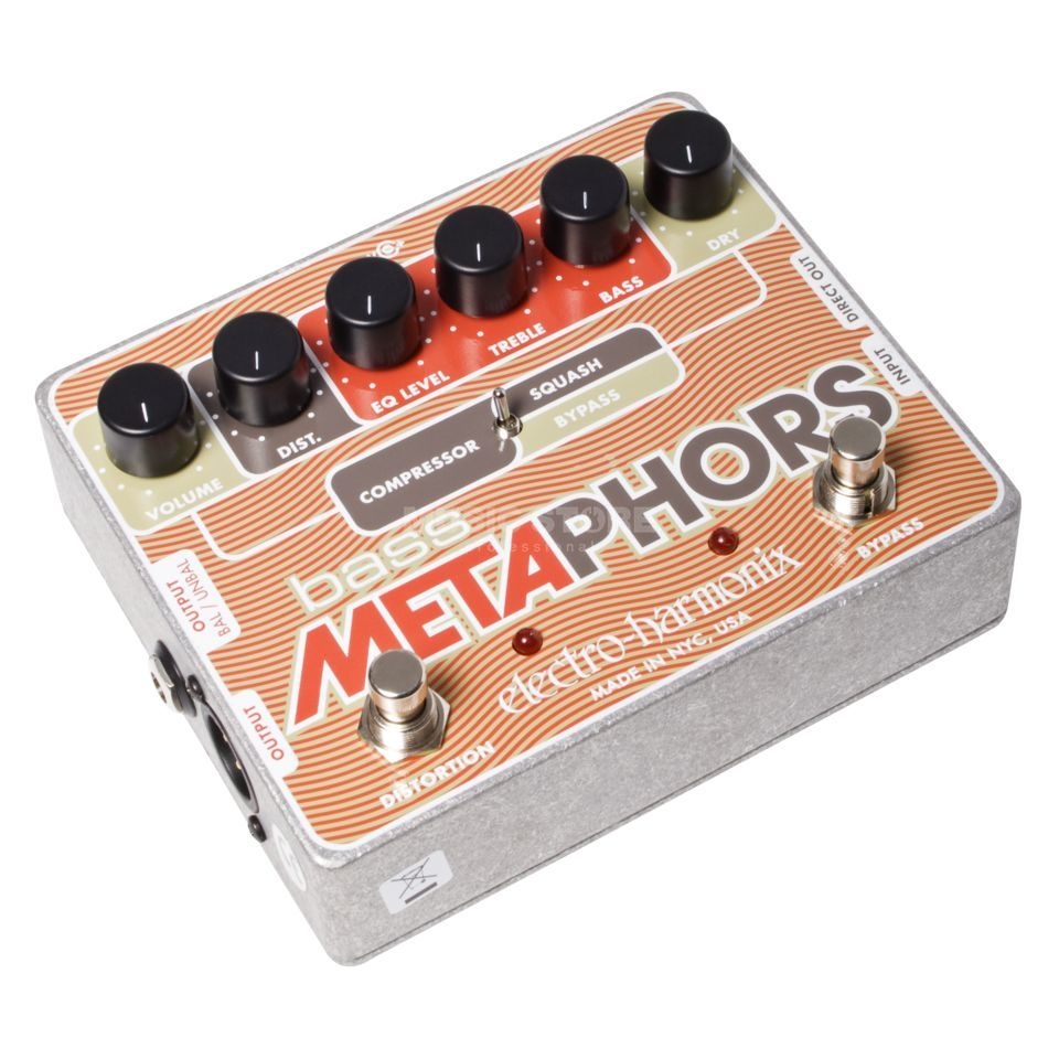 Electro Harmonix Bass Metaphors Guitar Multi Ef fects Pedal   Product Image