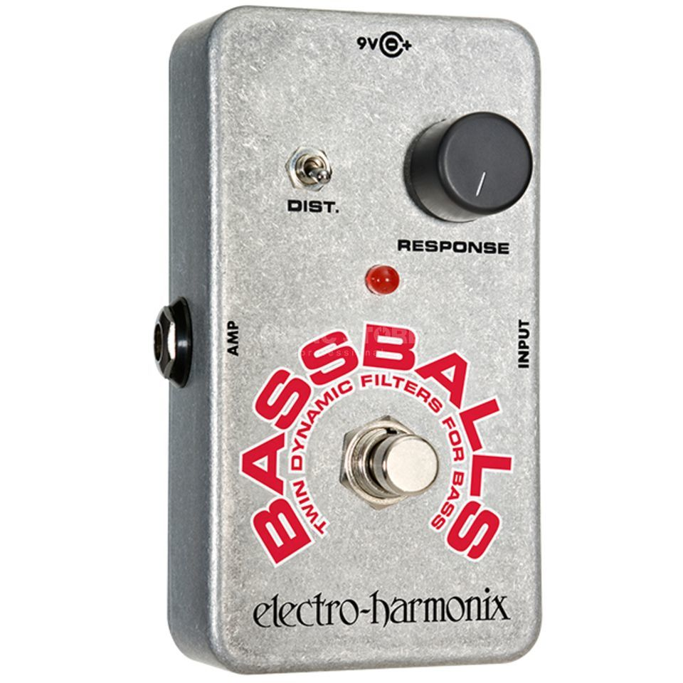 Electro Harmonix Bassballs Bass Guitar Effects  Pedal   Product Image