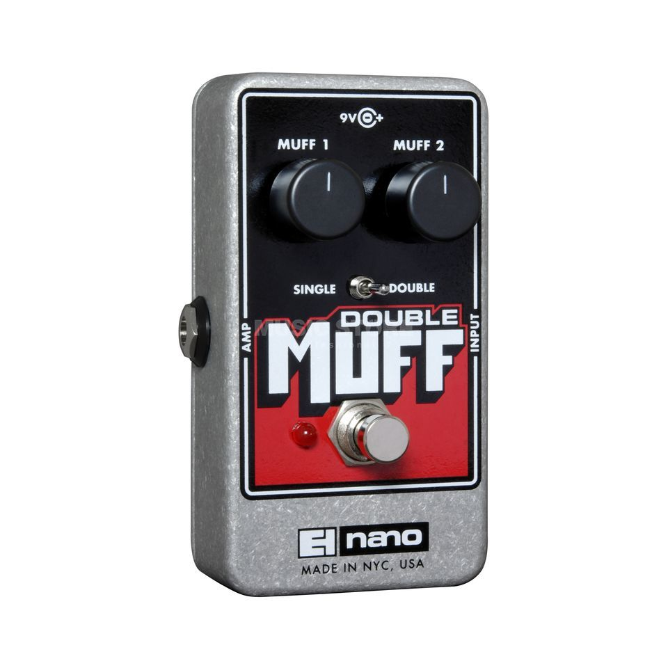 Electro Harmonix Double Muff Guitar Effects Ped al, Fuzz / Overdrive   Produktbillede