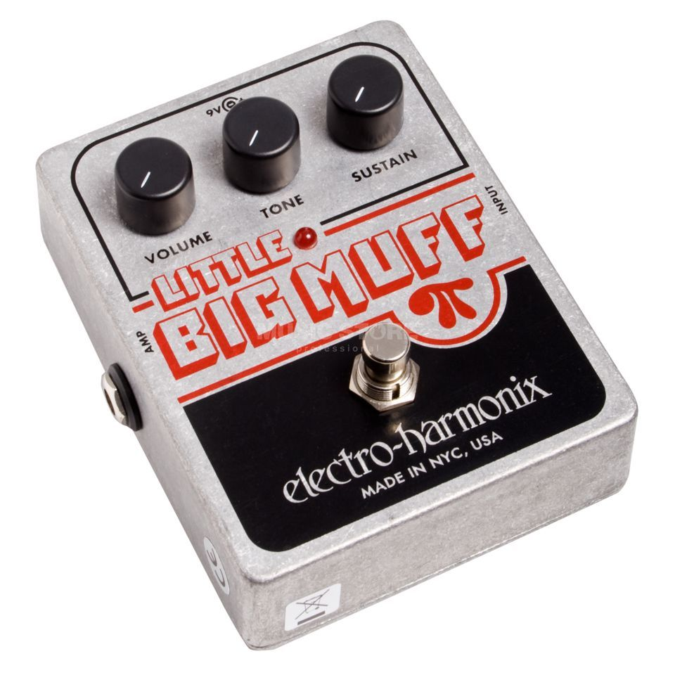 Electro Harmonix Little Big Muff Pi Distortion  Sustainer Pedal   Produktbillede