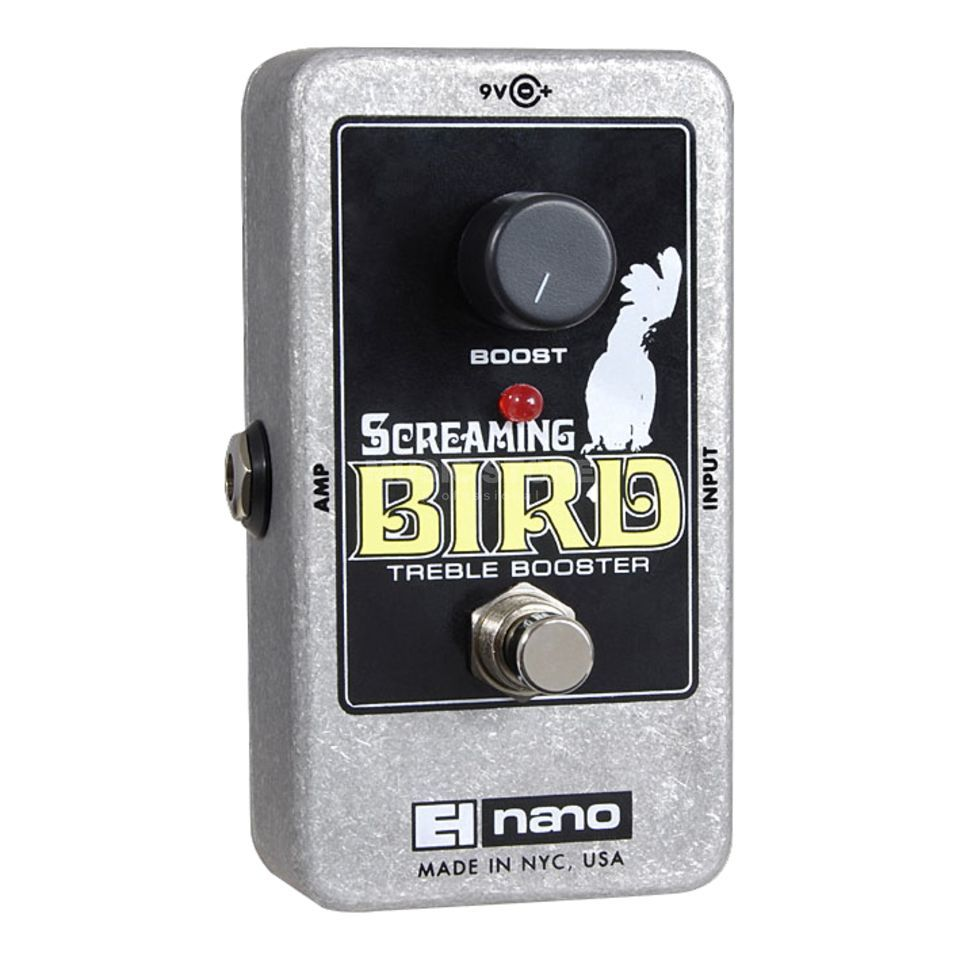 Electro Harmonix Screaming Bird Treble Booster  Guitar Effects Pedal   Produktbillede