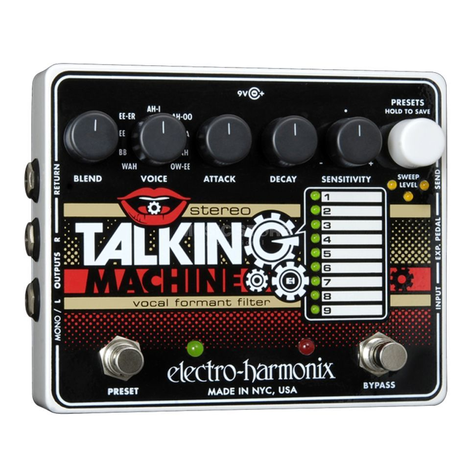 Electro Harmonix Stereo Talking Machine Vocal Formant Filter Produktbild