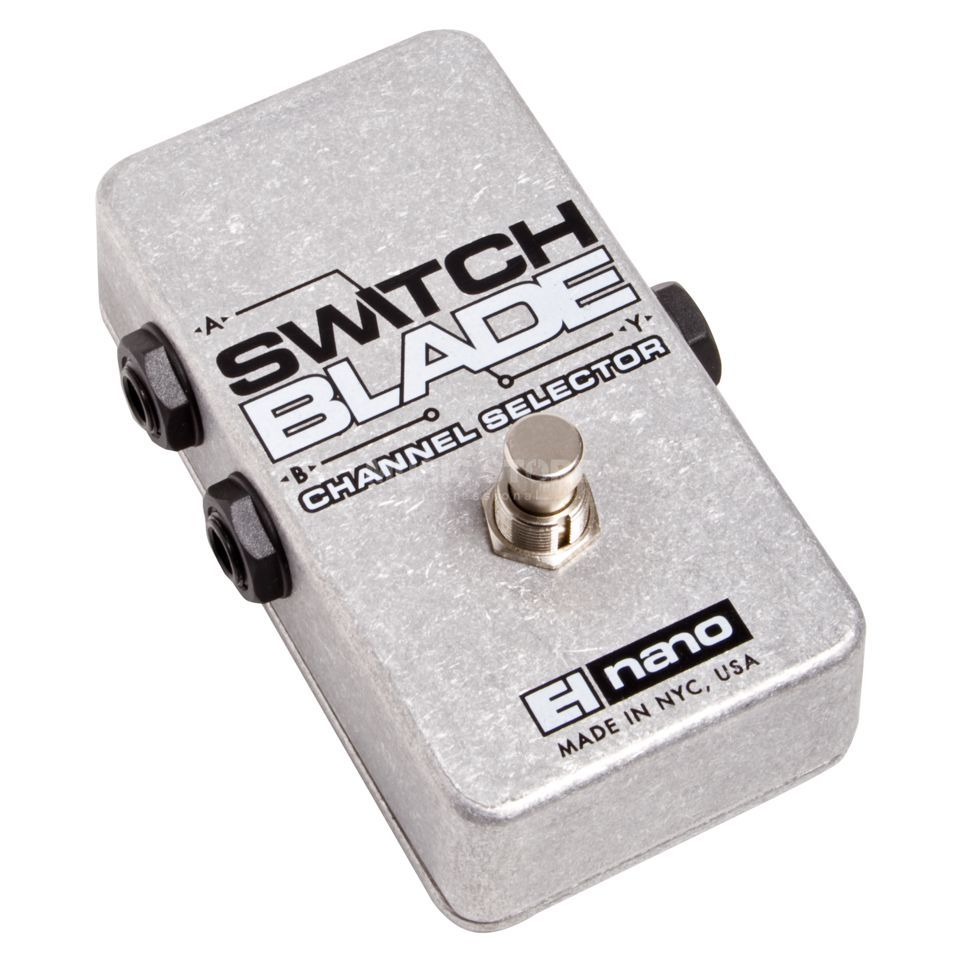 Electro Harmonix Switchblade Guitar Effects Ped al, Passive Channel Selector   Produktbillede