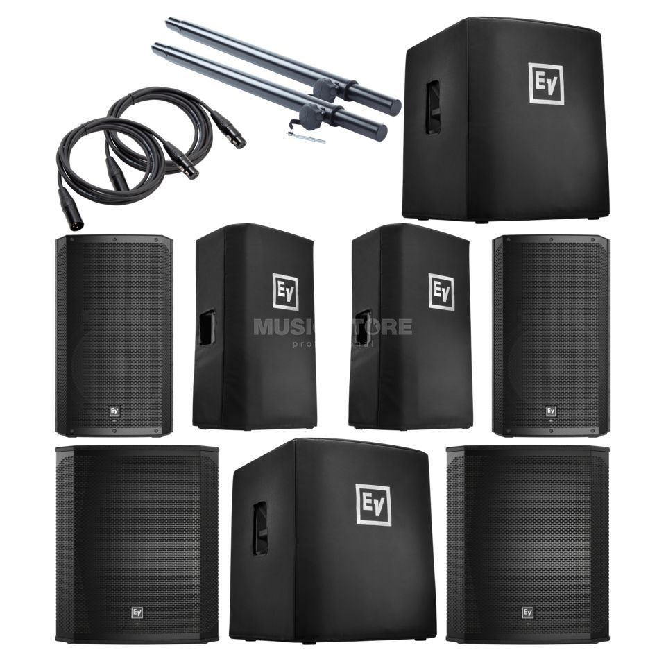 Electro Voice ELX200 15P Complete - Set Produktbild