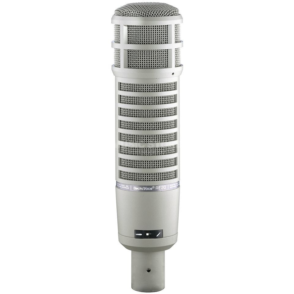 Electro Voice RE20 Dynamic Cardioid Microphone Product Image