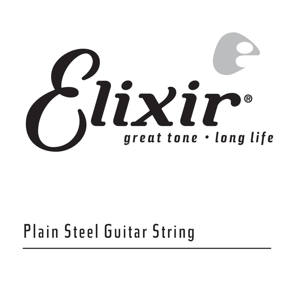 Elixir 13018 Single String 018 Plain  Product Image