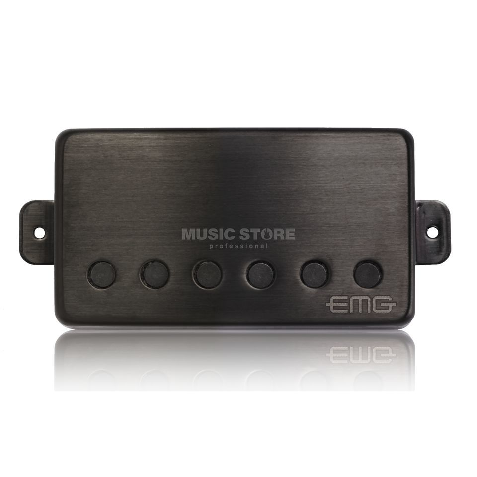 EMG 57-B Humbucker Brushed Black Chrom Produktbild