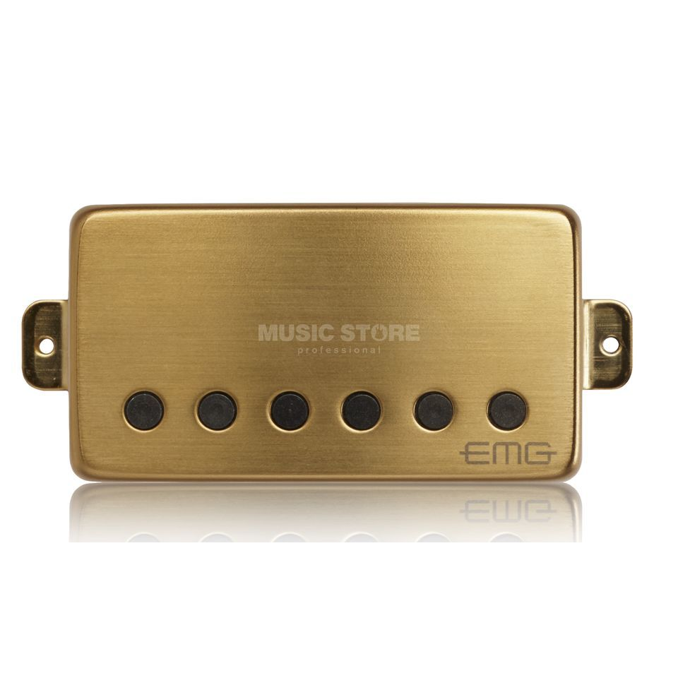 EMG 57-B Humbucker Brushed Gold  Produktbillede