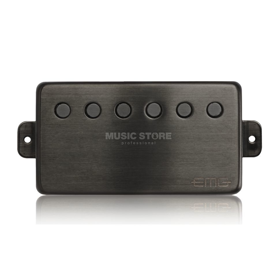EMG 66-N Humbucker Brushed Black Chrom Produktbild