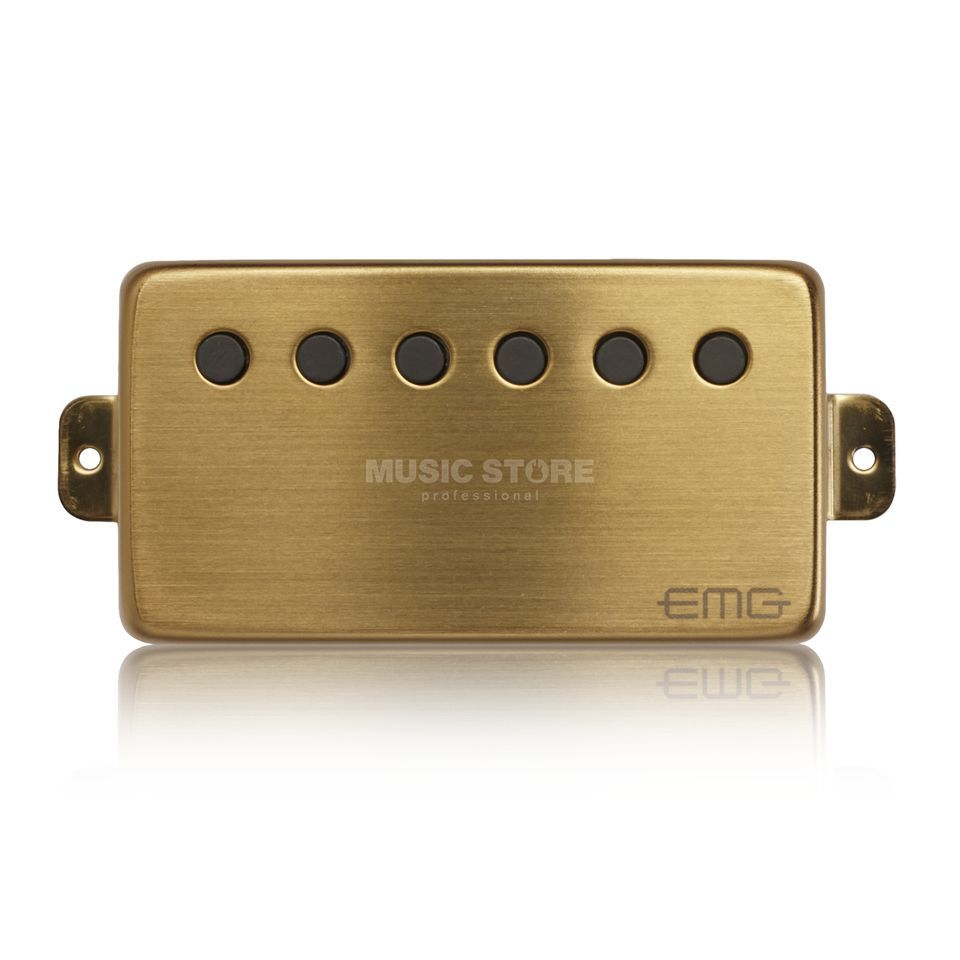 EMG 66-N Humbucker Brushed Gold  Produktbillede