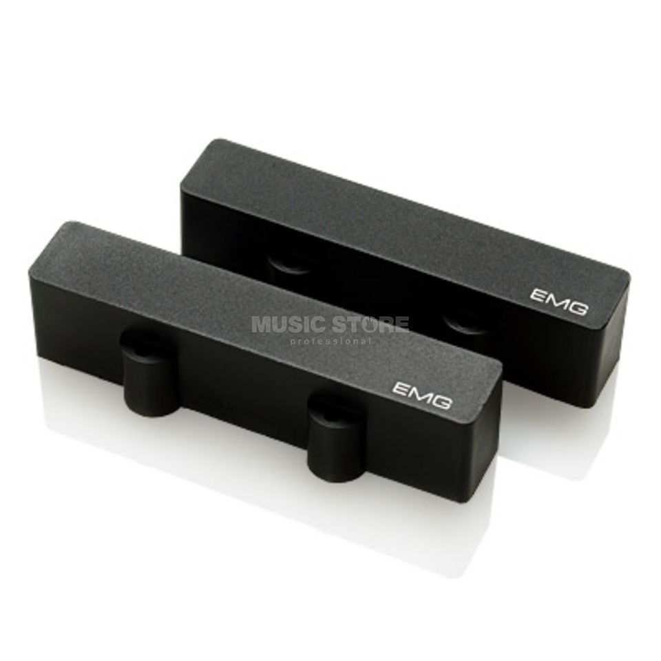 EMG J Set J-Style Bass Pickup Set,  Black   Изображение товара