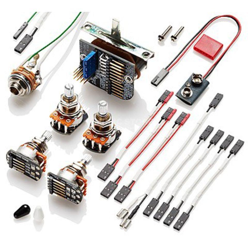 emg solderless kit 3 pickups rh musicstore de Electric Guitar Wiring Kits Alston Guitars Kit Wiring Diagram