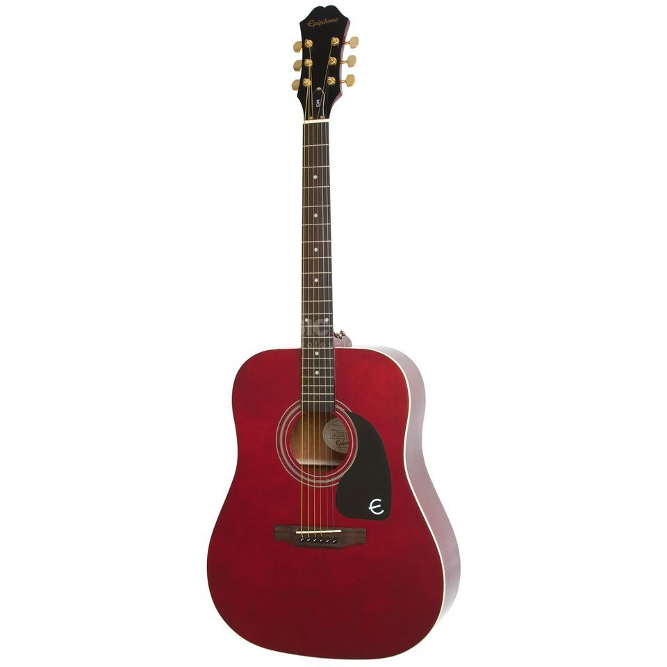 Epiphone Dr 100 Wr Wine Red Limited Music Store Professional En Ot